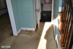 Hallway before reno