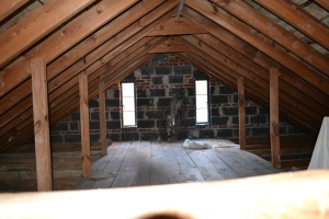 Attic before renovation