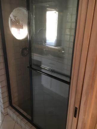 Shower in old master bath